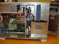 Innenansicht HP Compaq 350 Server
