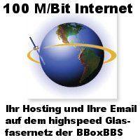 100 M/Bit Internet-Leitung der BBoxBBS