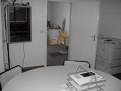 Office Blick zur Küche