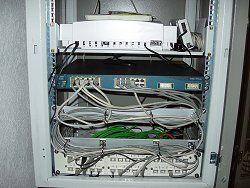 Office Telefonzentrale und Netzwerk