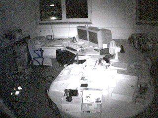 Office BBoxBBS bei totaler Dunkelheit mit Infrarot