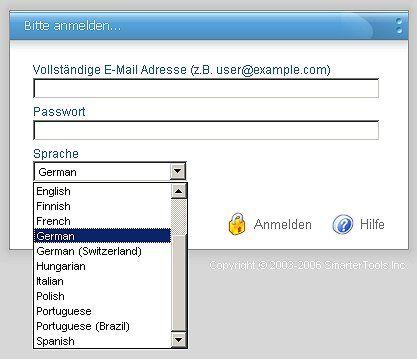 Webmail-Zugang für Kunden mit @bboxbbs.ch Konti