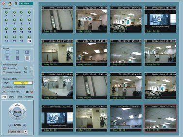 Vivotek 16 Kanal HD-Recording Software
