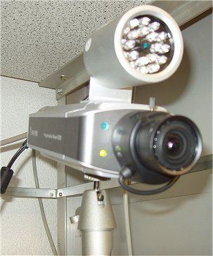 VIVOTEK IP7151 Webcam mit Infrarotstrahler