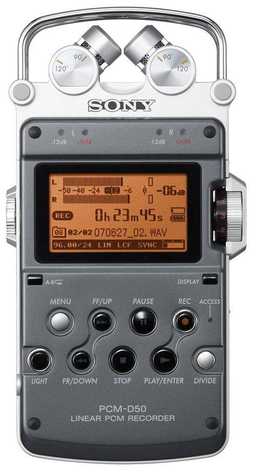 Sony PCM-D50 Linear PCM Recorder