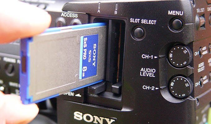 Sony XDCAM PMW-EX1 SxS Flashcards